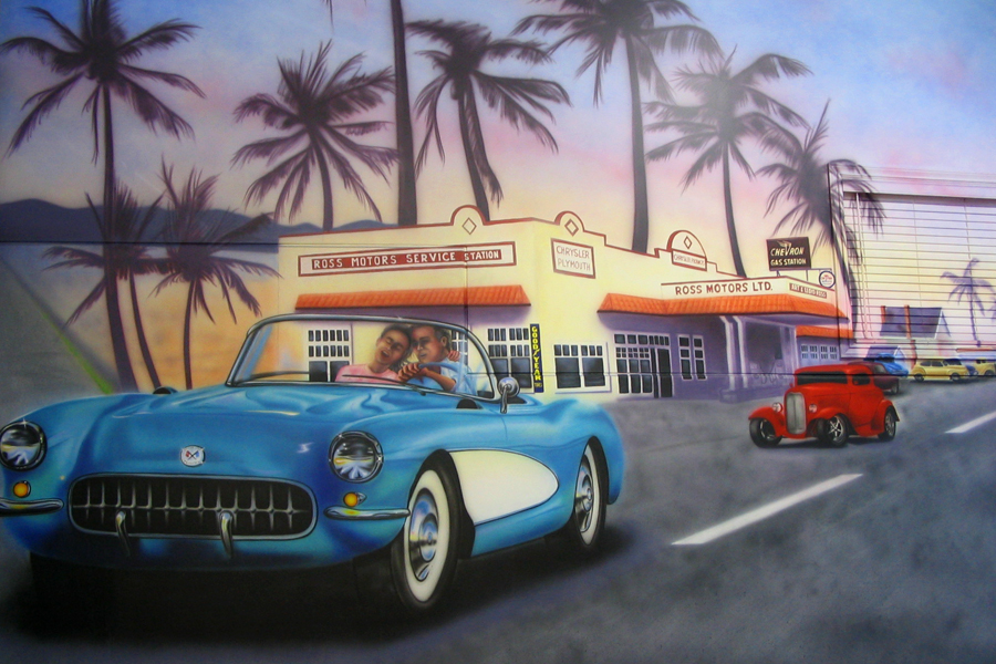 airbrushed wall murals airbrush wall murals submited images