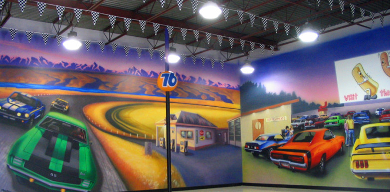 Air Brushed Murals