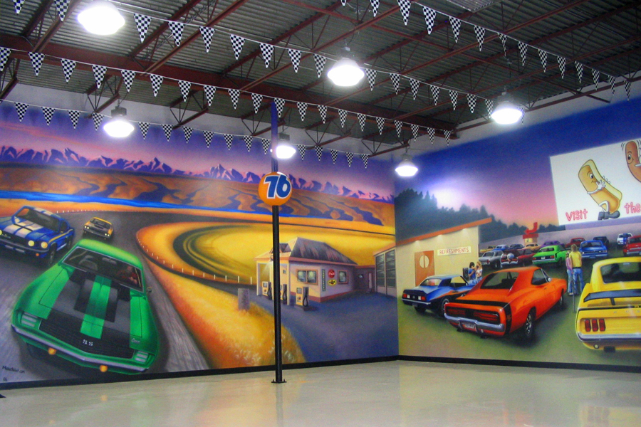 airbrushed murals edge studio arts