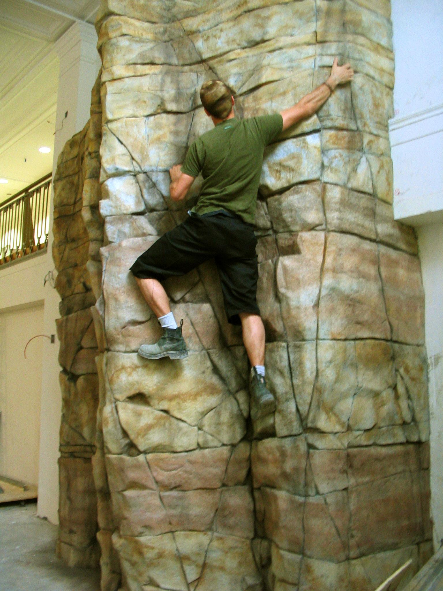 Rock Climbing Walls Edge Studio Arts